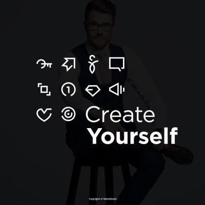 Dla Mateusza Grzesiaka stworzyłem projekt strony www. Symbole są autorstwa Mamastudio.