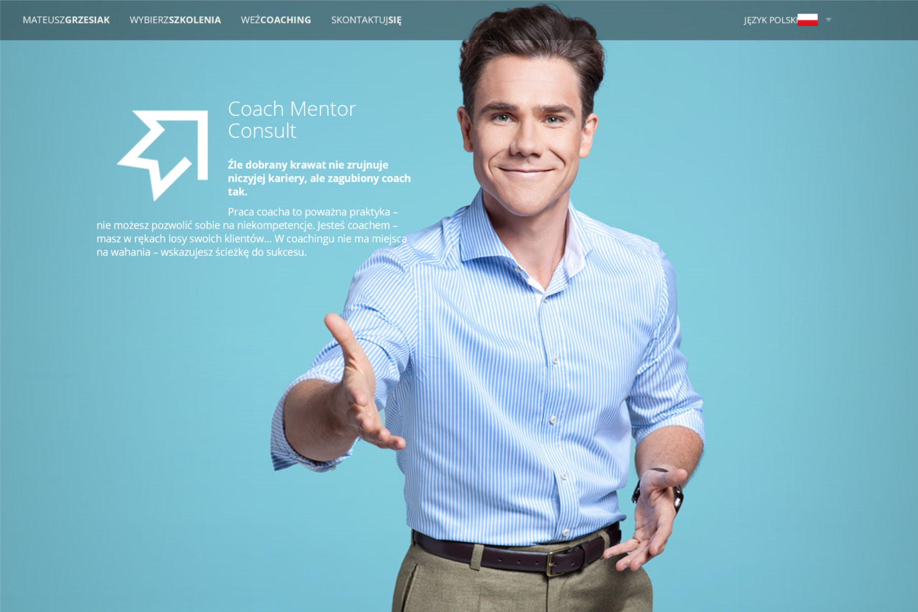 Mateusz Grzesiak, personal branding, agencja, strona www, grmg, rebranding